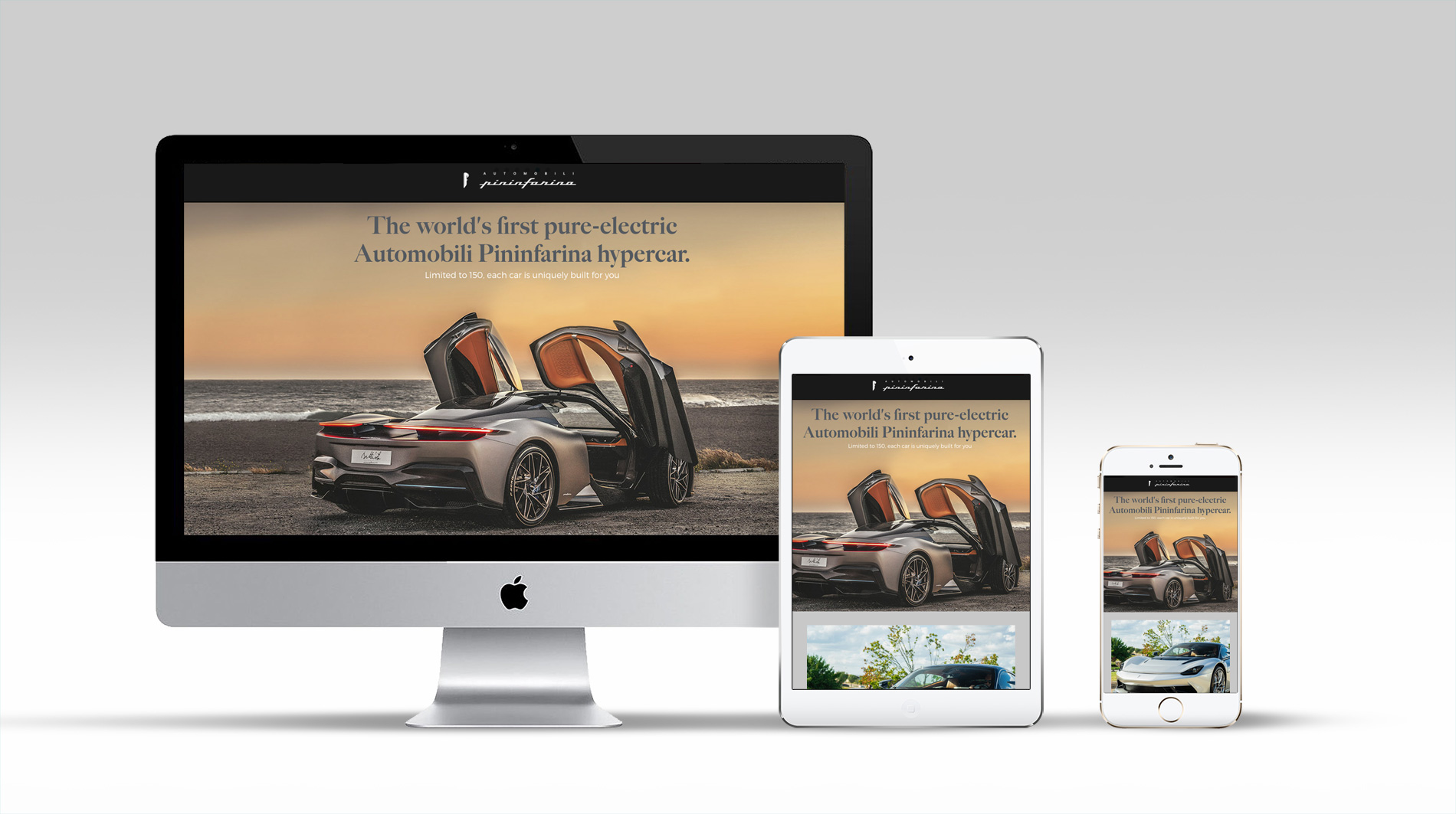 Automobili Pininfarina Website